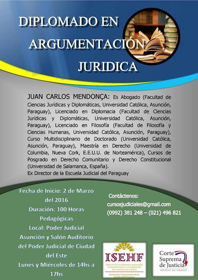 Diplomado en Argumentación Jurídica