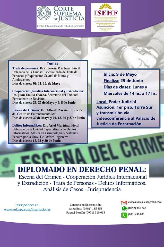 Diplomado en Derecho Penal